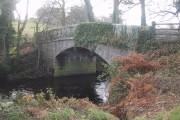 Dogmarsh Bridge over the River Teign