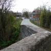 Level crossing from Moreton bridge