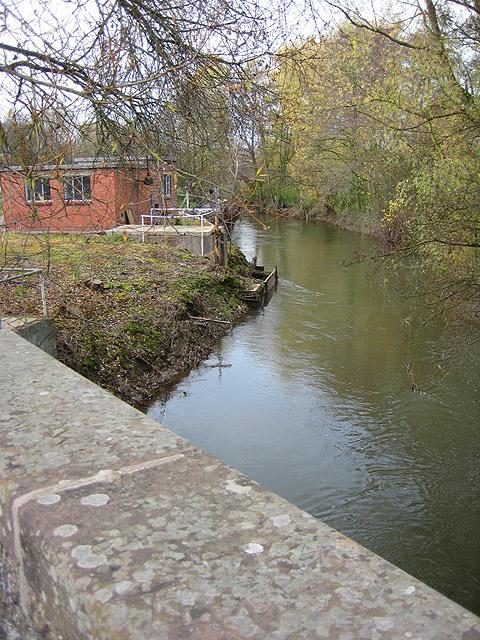 River Lugg, upstream