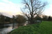 The River Derwent Flows Past Alvaston Park