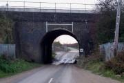 Bridego Bridge - Great Train Robbery Site - View westwards