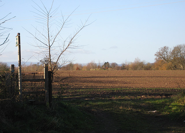 Footpath to Elton's Marsh