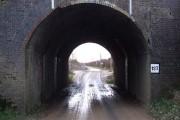 Site of Great Train Robbery - Bridego Bridge close-up