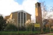 Emmanuel church, Morden - East end