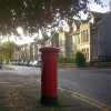 Victorian pillarbox in Polmuir Road, Aberdeen