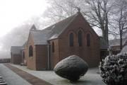 All Saints Calthwaite - frost late November morning