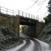 Edinburgh- Carstairs railway line bridge at Baberton Mains