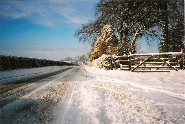 Snow on Long Lane
