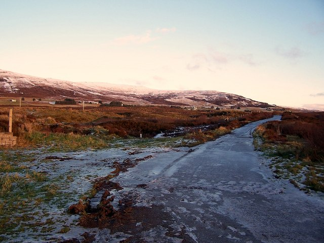Old road to Borve
