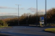Junction 44 of the M4 - at Peniel Green