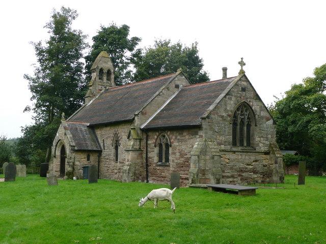 St. Giles' Church, Caldwell