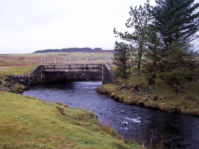 Bridge over the Lòn an Eireannaich
