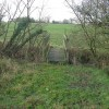 Footbridge over small stream