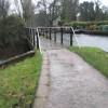 Modest bridge just past Guildford Boathouse
