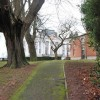 Oldway Mansion through the trees