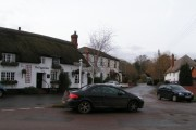 The Digger's Rest at the centre of  Woodbury Salterton