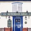 Bishop's Itchington Butchers Arms front door