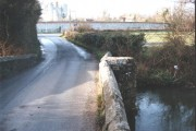 Anjou Bridge over the River Meon at Catisfield
