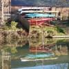 Leamington Canoe Club on the river Leam
