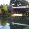 Leamington road bridge over the Leam