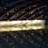 Leamington road bridge over the Leam, closeup
