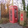 Bus Stop,Telephone & Post Box