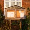 Brundish Village Hall notice board