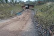 Heavy Plant Underpass Hampton Vale