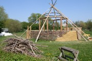 Iron-Age Roundhouse replica