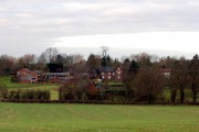Hill village, from east of A426 (2 of 2)