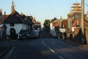 Main crossroads in Ditchling