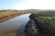 River Clyst downstream from Clyst Bridge
