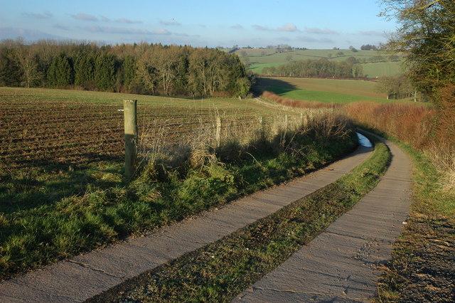 Farm drive, Hill Farm