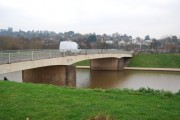 Station Rd Bridge over the Exe Flood Relief Channel