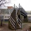 Grand Union canal footbridge, Leamington Spa