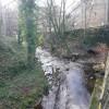 The River Holme alongside Woodhead Road, Holmfirth