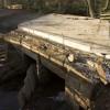 Bridge strengthening work