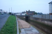 Bridge across the Old Exmouth to Budleigh Salterton line