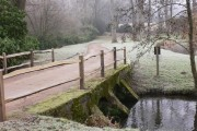 Bridge over River Wey at Passfield Manor