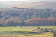 Southease from Itford Hill