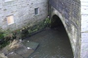 Bacup Road Bridge over the River Irwell
