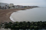 Western end of Herne Bay viewed from the entrance to the pier