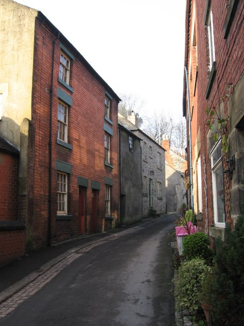 Wirksworth - houses on The Dale