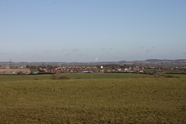 View towards West Melton from Hoober Hall Lane