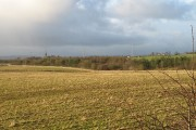 Fields beside the M73