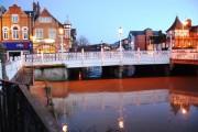 Big Bridge as evening falls