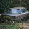 Derelict  Rover Motor car, Upper Dean