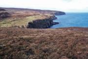 Moorland above Gob na Hoe