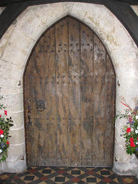 Enter St Mary's Church...
