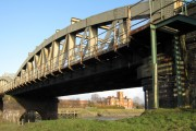 Hawarden Bridge and the John Summers' building